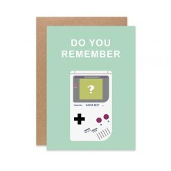 carte postale gameboy